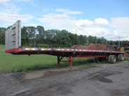 Great Dane 48' x 102' Combination Flat Bed Trailer 10.2' Spread Axle