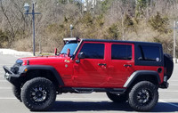 2016 Red Jeep Wrangler Sport Unlimited