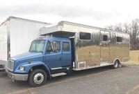 1999 7 horse eby hauler van