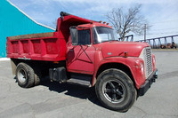 1970 International Loadstar Dump Truck w Spare Parts Truck