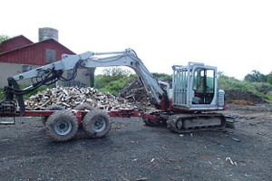 2007 Takeuchi TB175 Valby Forestry Wagon