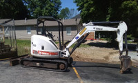 Used 2008 Bobcat 430 Mini Excavator