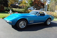 Used 1968 Chevrolet Convertible Corvette 425 hp