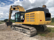 Used 2016 Cat 349FL Excavator
