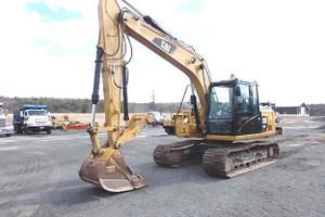 Used 2015 Cat 313F LGC Excavator