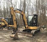 Used 2010 Caterpillar 304C CR Mini Excavator with Cat Hydraulic Thumb