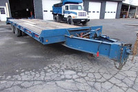 Used 1991 Interstate 20 Ton Tag Trailer