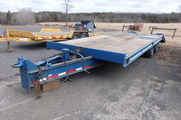Used 1996 Interstate 20 Ton Tag a Long Trailer