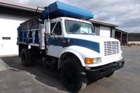 Used 1990 International 4900 Single Axle dump truck