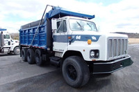 Used 1995 International 34068 tri axle dump truck