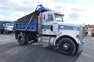 1993 Peterbilt 378 single axle dump truck