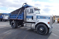 1993 Peterbilt 378 single axle dump truck