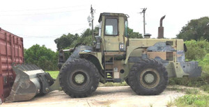 Wheel Loader 54,000lb Military Issue M10A Real Bull