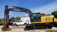 Used 2010 John Deere 200D LC excavator