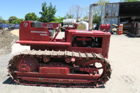 1950 International TD 9 Antique Crawler Tractor