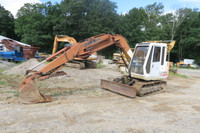 15,500lb Excavator LS1600 Link-Belt Hydraulic off Set Boom w Thumb