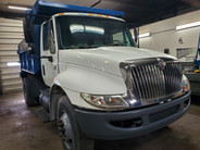 2002 International 4400 Single Axle Dump Truck