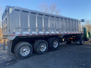Used 1997 SpecTec 30ft Aluminum End Dump Trailer