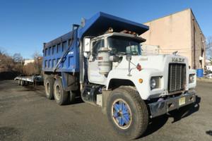 Used 1989 R-Model Mack Tandem Dump Truck 58 Rears