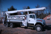 2002 FL80 Tandem 6x6 105' High Reach Altec Bucket Truck Automatic