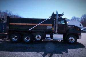 2014 Caterpillar CT660L Tri Axle Dump Truck