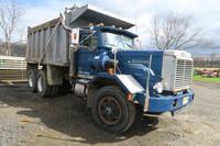 1984 DK64B Autocar Tandem Axle Dump Truck