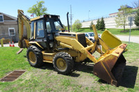 Cat 436B Backhoe Loader