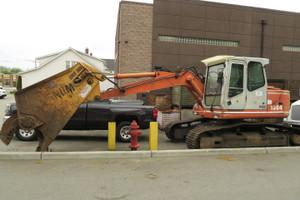 Atlas 1304 Scrap Handler shear crawler excavator