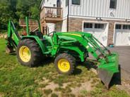 Used 2007 John Deere 990 Compact Tractor