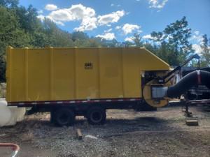 Used 2009 ODB Old Dominion Brush Co. SCL 800TM30 30 yard trailer