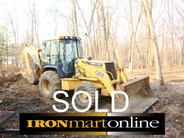 2000 John Deere 410E  Backhoe Loader 4x4 Ext-a-hoe Enclosed Cab