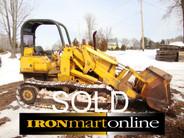 John Deere 450C Track Loader
