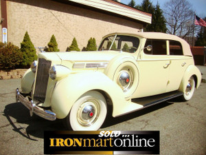Packard 1938 Convertible Sedan, in very good condition.