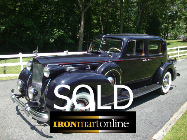 1938 Packard V12 Club Sedan