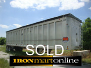 East Trailer 100 Yard Walk in used for sale