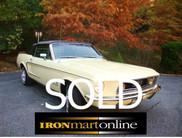 1968 Ford Mustang  Convertible Built in San Jose CA Factory Air