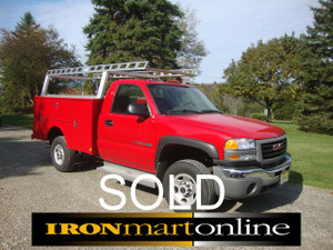 GMC 2500 HD Utility Truck Used/SOLD