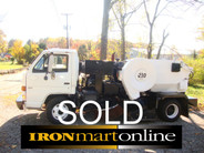 Parking Lot Sweeper Tymco 210 Air Sweeper used for sale