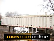2004 Ravens 42ft Frameless 78yrd End Dump Trailer used for sale