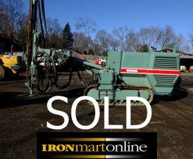 SOLD Vertical Rock Drill