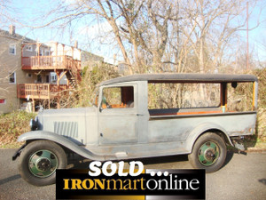 1932 Chevy Confederate Canopy Express 1.5 Ton Truck used for sale