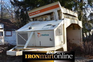 Metso Nordberg CV100 Mobile Screen, in very good condition.