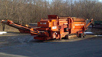 Track Mounted Trommel Soil Screener used for sale