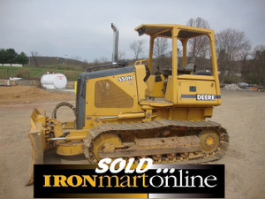 John Deere 550H LT Dozer, in very good condition.
