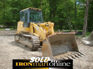 Deere 755C Series II Track Loader, in very good condition.