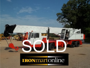 1978 Link Belt HTC 50 50-Ton Truck Crane SOLD