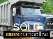 2005 Mack Tri Axle Dump Truck used for sale
