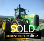 2005 Deere 9520 Tractor used for sale