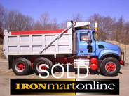 2003 Mack Tandem  Dump Truck  CV713 used for sale