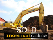 2002 Komatsu Excavator PC 340LC 7K used for sale